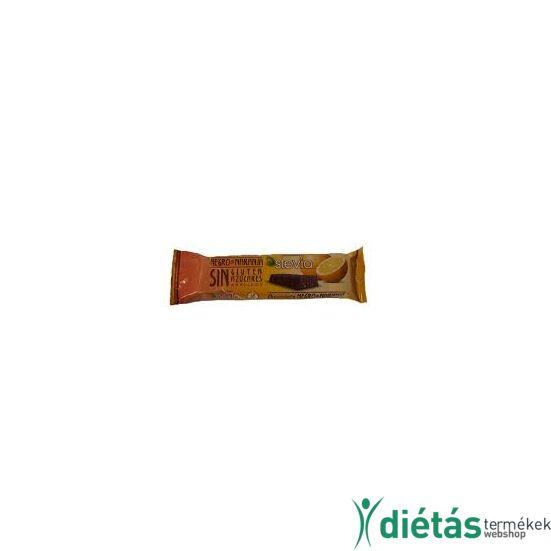 Torras Stevia Narancsos hozzáadott cukormentes étcsokoládé (gluténmentes, tejmentes) 35g