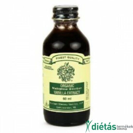Nielsen-Massey bio madagaszkári bourbon vanília kivonat 60 ml