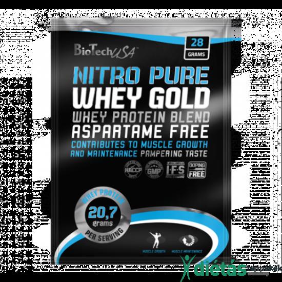 Biotech USA Nitro Pure Whey fehérjepor (Sárgadinnye) 28 g