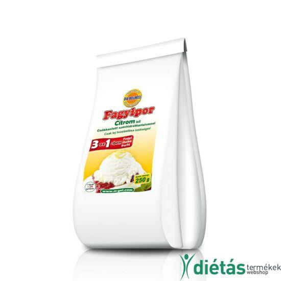 Dia-Wellness Citrom ízű fagyipor 250g