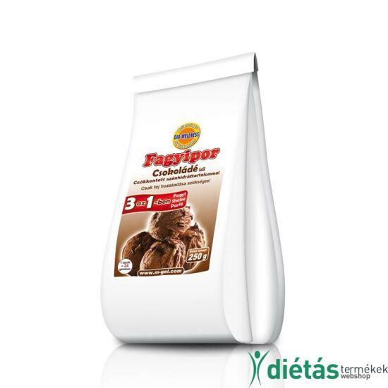 Dia-Wellness Csokoládé ízű fagyipor 250 g