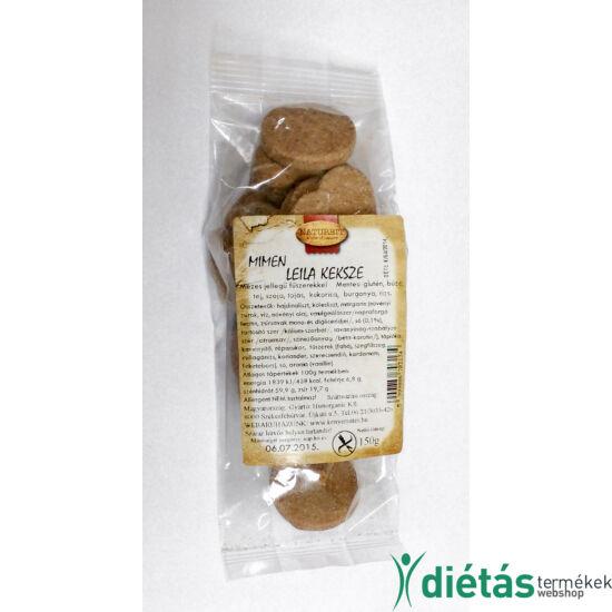 Naturbit Mimen Leila keksze gluténmentes mézes jellegű keksz 150g