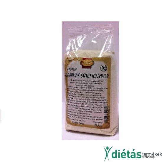 Naturbit Mimen gluténmentes vaníliás süteménypor (MINDENMENTES) 500 g