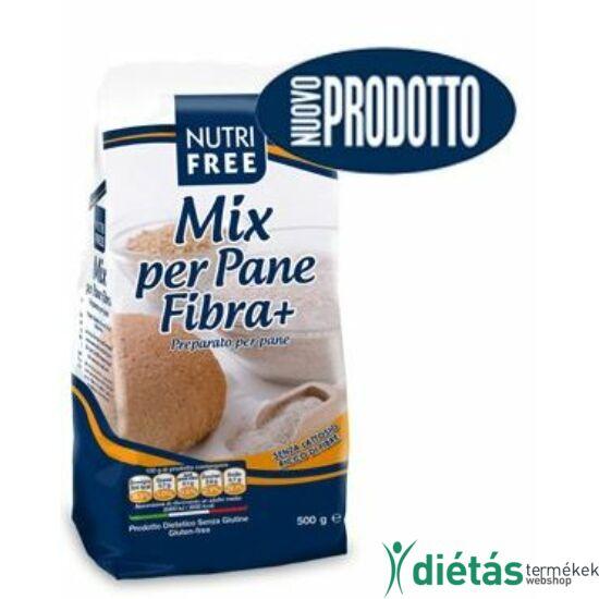 Nutri Free Mix Per Pane Fibra + gluténmentes korpás kenyérpor 500 g
