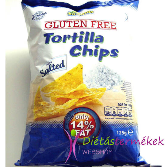 Sam Mills Gluténmentes tortilla chips 125g