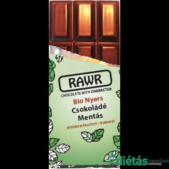 Rawr Bio nyers csokoládé mentás 60 g