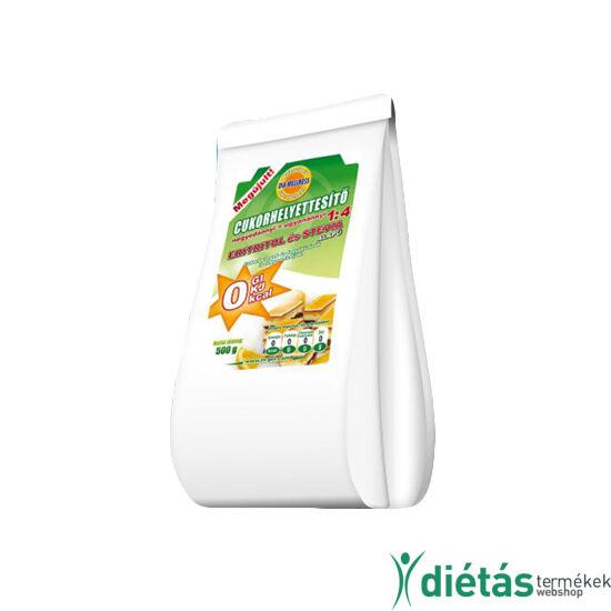 Dia-Wellness Negyedannyi Cukorhelyettesítő 1:4 0 kcal (SZUCHRALÓZZAL) 500g