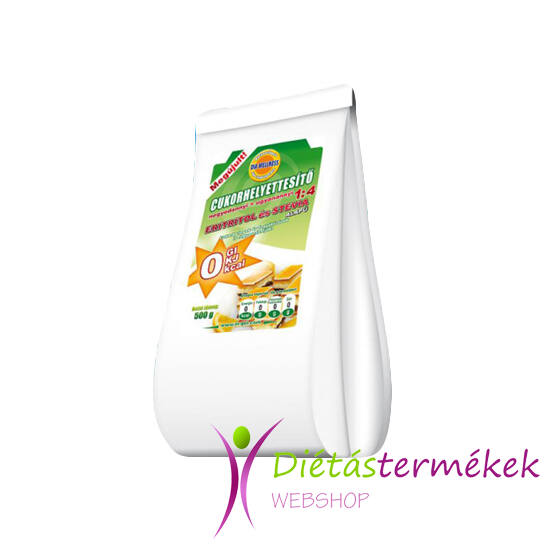 Dia-Wellness Negyedannyi Cukorhelyettesítő 1:4 0 kcal (SZUCHRALÓZZAL) 500 g