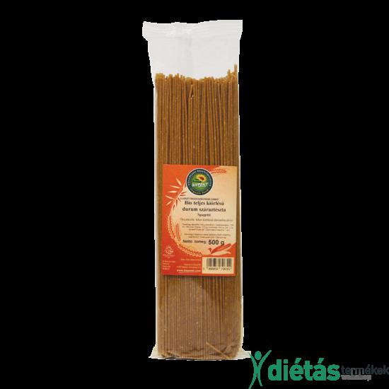 Biopont Bio durum tészta spagetti tk. 500 g