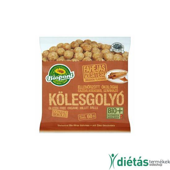 Biopont Bio kölesgolyó fahéjas (gluténmentes) 60 g