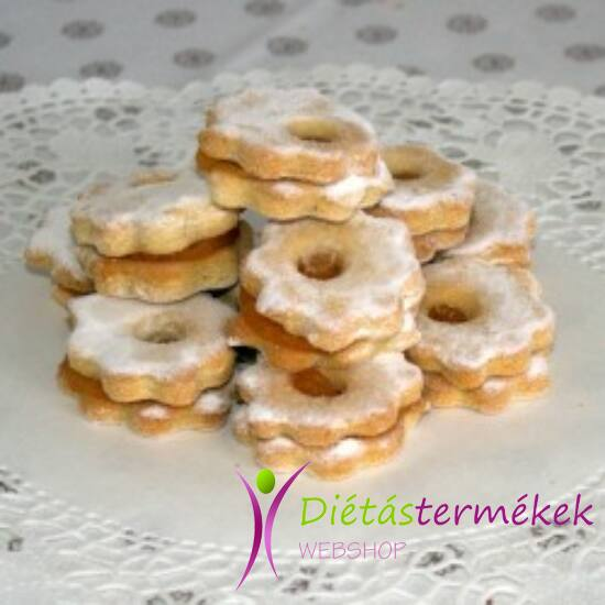Mester gluténmentes vegán linzer sütemény (hozzáadott cukormentes, tejmentes) 150g