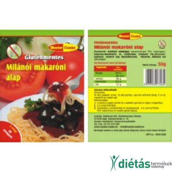 Mester gluténmentes milánói makaróni alap 50 g