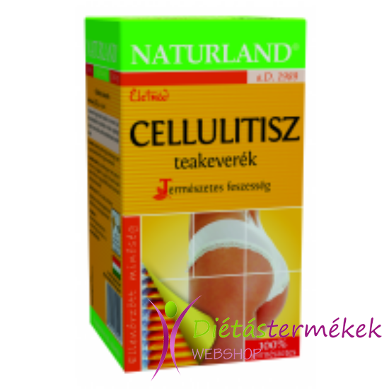 Naturland cellulitisz teakeverék 20 filteres
