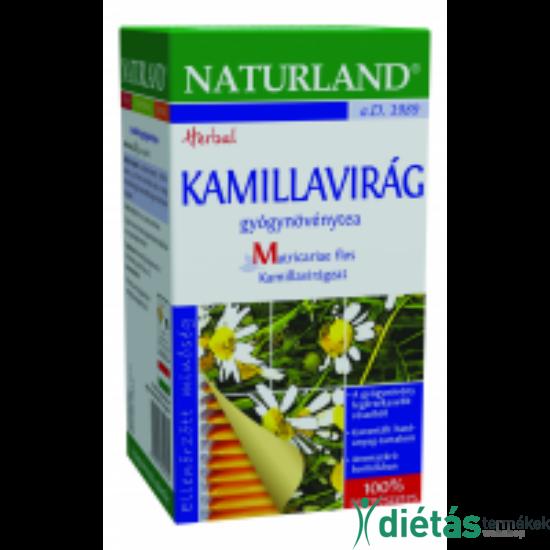 Naturland kamilla tea 25 filteres