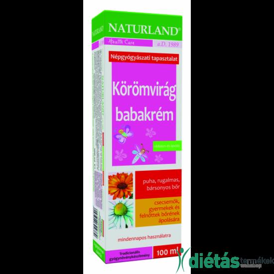 Naturland körömvirág babakrém 100g