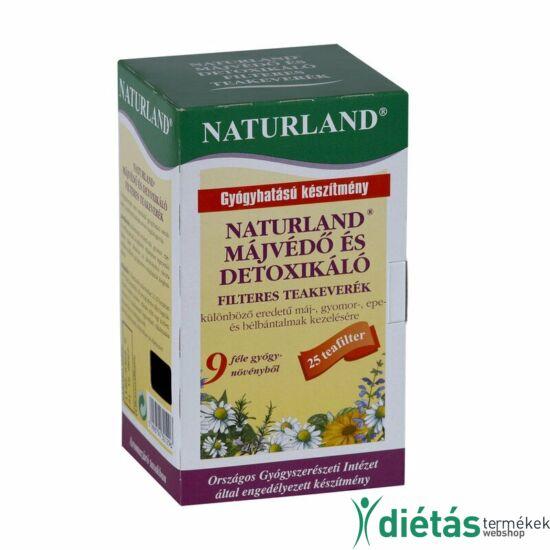 Naturland májvédő tea 25 filteres