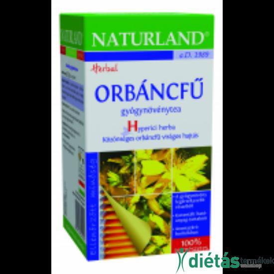 Naturland orbáncfű tea 25 filteres