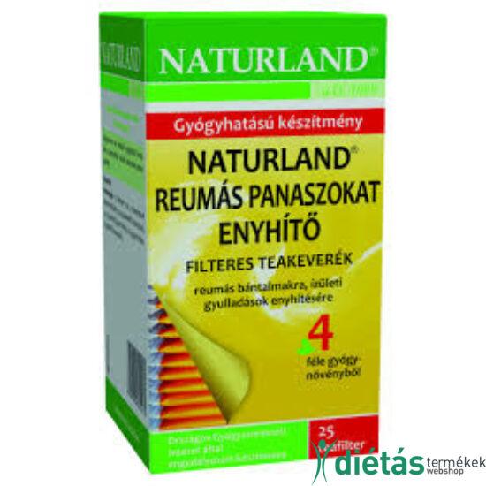 Naturland reumás panaszokat enyhítő tea 25 filteres