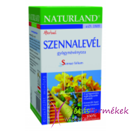 Naturland szennalevél tea 25 filteres