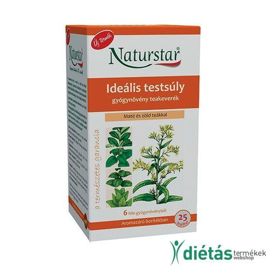 Naturstar ideális testsúly teakeverék 25 filter