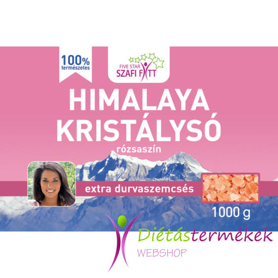 Szafi Reform Himalaya kristálysó, rózsaszín, extra durvaszemcsés 1000g