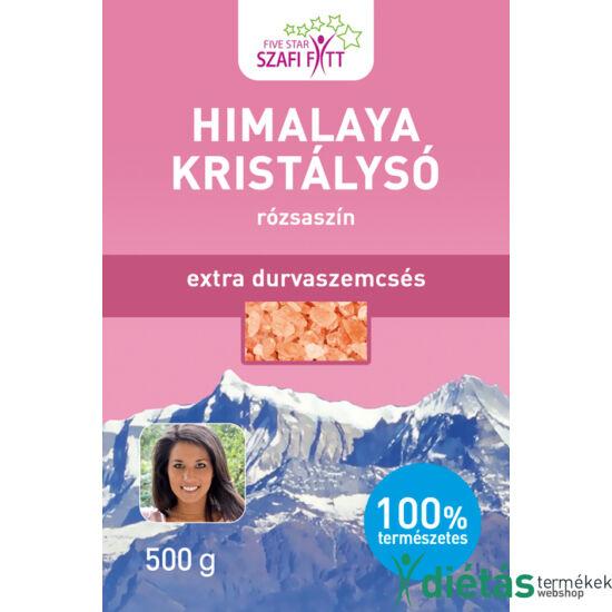Szafi Reform Himalaya kristálysó, rózsaszín, extra durva szemcsés 500g