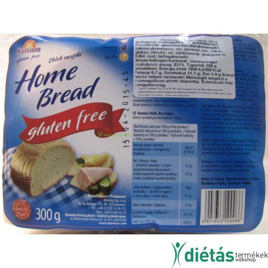 Balviten házi kenyér  (glutén-, tej-, tojásmentes) 300 g
