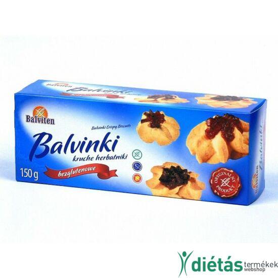 Balviten lekváros keksz (gluténmentes, tejmentes) 150 g