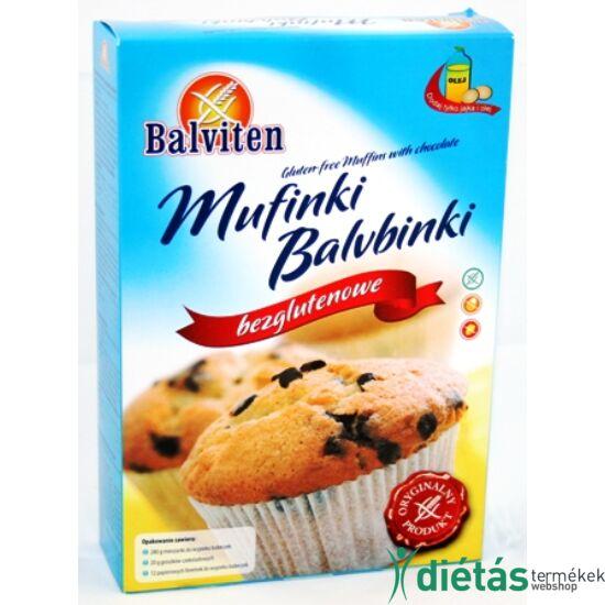 Balviten muffinkeverék csokival (gluténmentes, tojásmentes)  280 g