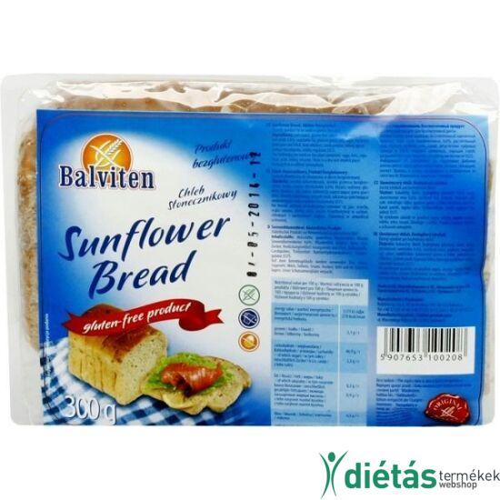 Balviten napraforgós kenyér (gluténemntes, tejmentes, tojásmentes) 300 g