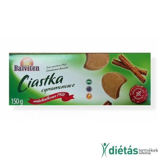 Balviten PKU fahéjas keksz (gluténmentes, tojásmentes, tejmentes) 150 g