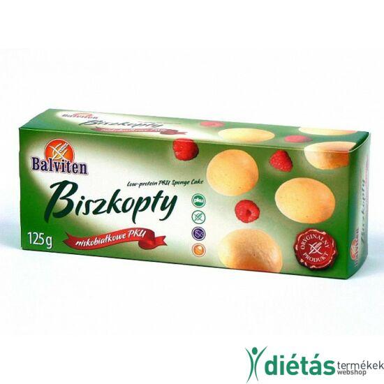 Balviten PKU piskótatallér (gluténmentes, tejmentes, tojásmentes) 125 g
