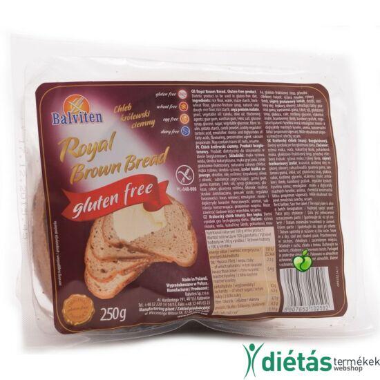 Balviten royal barna kenyér (gluténmentes, tejmentes, tojásmentes) 250 g