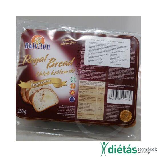 Balviten royal kenyér (gluténmentes)  250 g