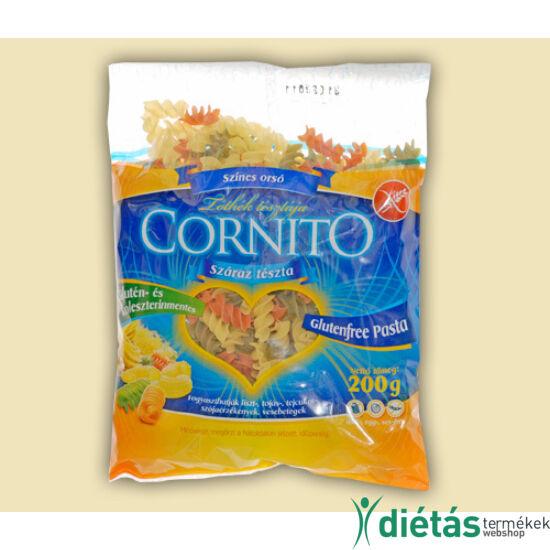 Cornito gluténmentes színes orsó tészta 200 g