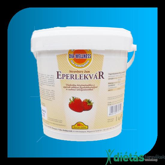 Dia-Wellness Eper Lekvár 1 kg nagy