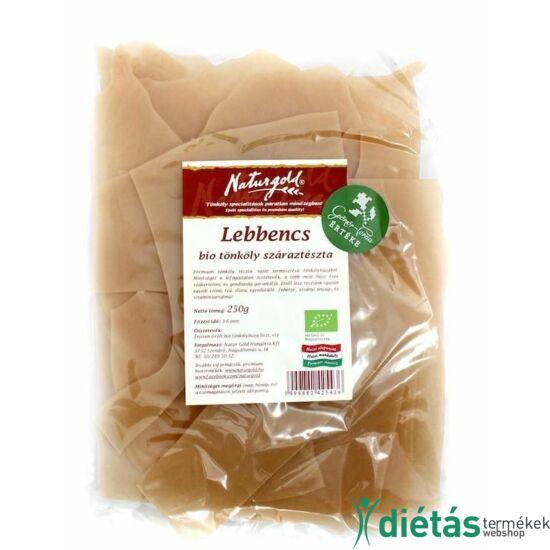Naturgold Bio tönkölyliszt tészta lebbencs (tojásmentes) 250 g