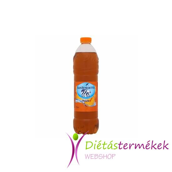 San Benedetto ice tea őszibarack  1,5 l
