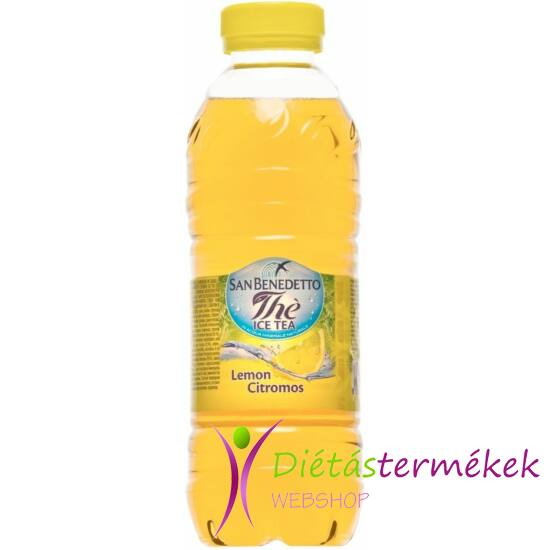 San Benedetto ice tea citrom 0,5 l