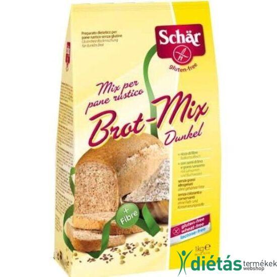Schär barna kenyérliszt 1 kg