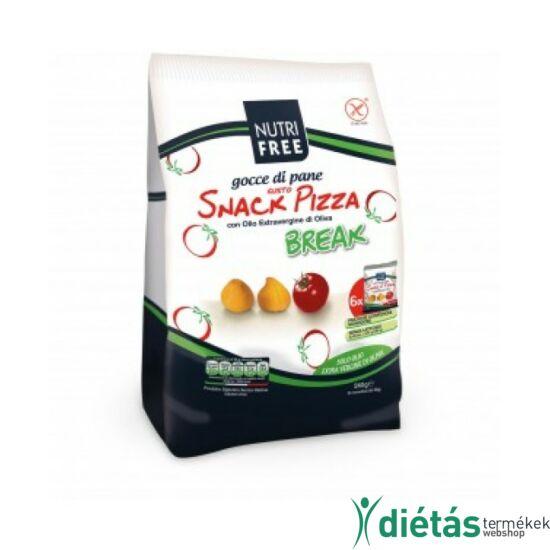 Nutri Free Gocce gusto pizza break snack 180g