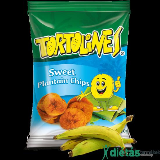 Tortolines banán chips édes 100g