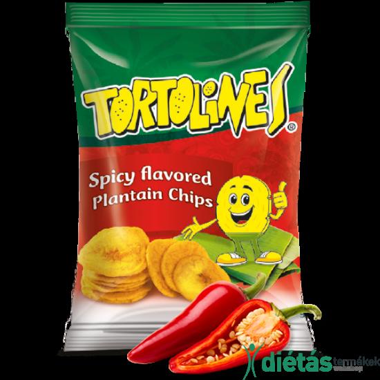 Tortolines banán chips fűszeres 100g