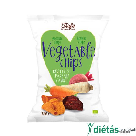 Trafo Bio chips zöldséges 75g