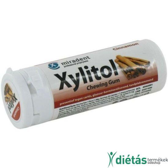 Xylitol rágógumi Fahéj 30 db