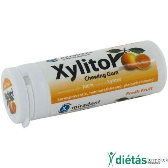 Xylitol rágógumi Friss gyümölcs 30 db