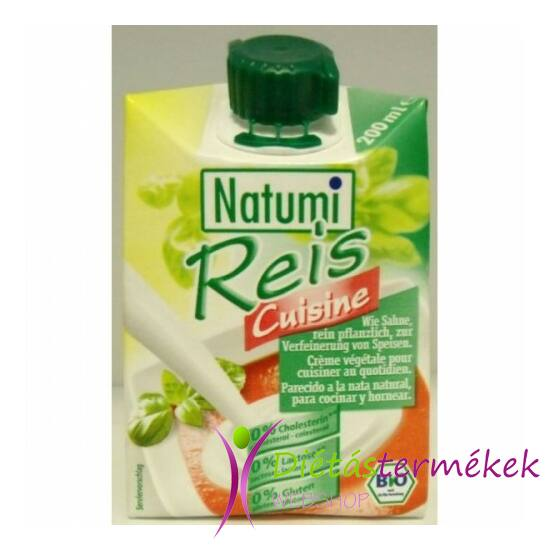 Natumi bio rizstejszín 200 ml