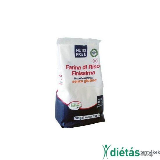 Nutri Free finom őrlésű rizsliszt 500 g