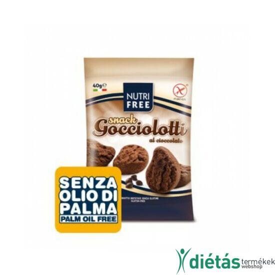 Nutri free gocciolotti snack keksz 40 g