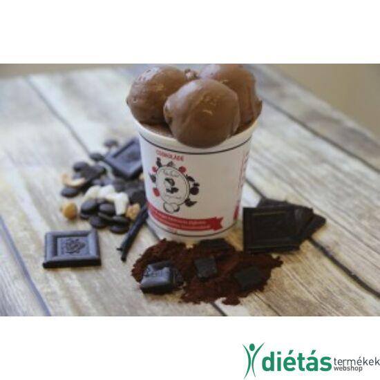 Hideg nyalat Csokoládé jégkrém (paleo, vegán, gluténmentes, tejmentes) 1000ml nagy